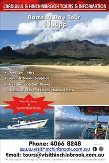Cardwell  Hinchinbrook Tours  Information